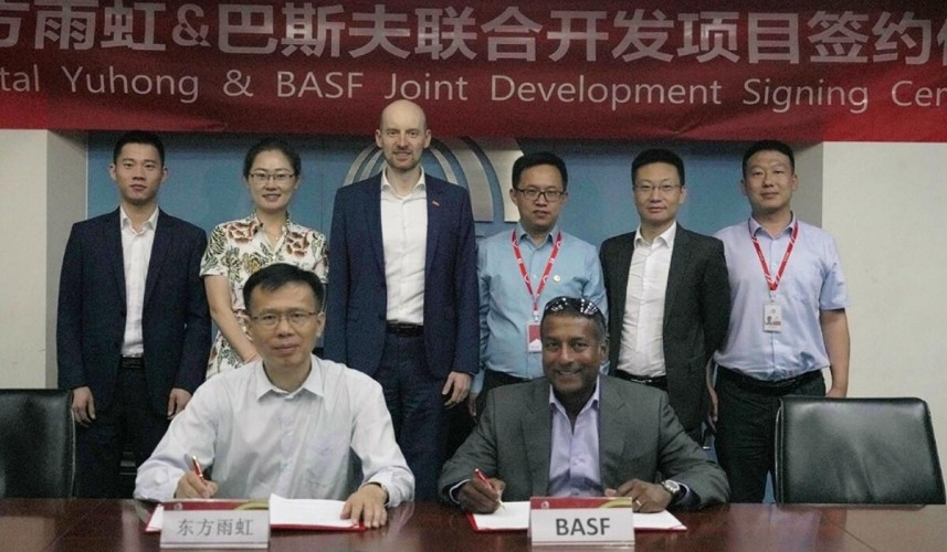 BASF and Oriental Yuhong expand collaboration by co-developing sustainable waterproofing solutions in China